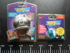 Set BOOMBOX Hit Clips Micro Mini Music Clip Jewel Standing Tiger Song Hasbro