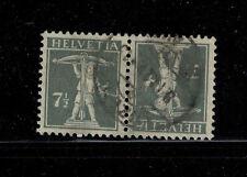 Suiza K 11 con sello tellknabe