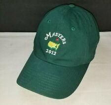 2012 Green Masters Augusta National Golf Hat Adjustable