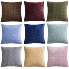 Cushion Cover Office Home Bed Sofa Car Soft Pillow Case New Stylish 17x17''