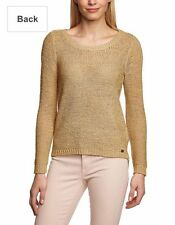 ONLY - Women's roundneck jersey geena pullover - Warm sand - Large