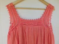 NWT Gap Women's Pink Crochet Tank Top XS S M L XL MSRP $30 New Free Shipping