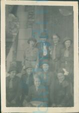 More details for 1935 girl guides photo st bartholomew's brownies  3.5*2.25