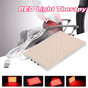 Red Light Infrared LED Therapy Pad LEC Deep Penetration Pain Relief Safe    I