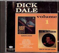 DICK DALE - VOLUME 1    CD  1991  TNT LASER
