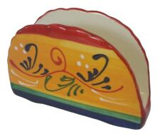 Napkin Serviette Holder 14 x 9 cm Kitchenware Spanish Handmade Ceramic Pottery