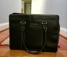 """DAY ONE BLACK LAPTOP MESSENGER ACCESSORY TOTE BAG HOLDS 15.9"""" COMPUTER CASE"""