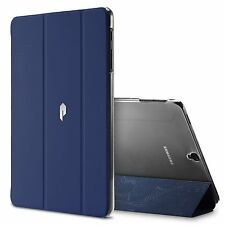 Navy Blue For Galaxy Tab S3 9.7 Poetic Slimline Trifold Cover Stand Folio Case