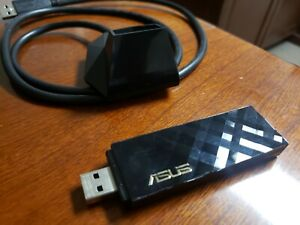 Asus USB-AC55 Wireless-AC1300 Dual Band Wireless Adapter USB 3.0 5Ghz And 2.4...