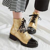 Stiefeletten Boots Stiefel Keilabsatz Damenschuhe Winter eWDI9YHE2b