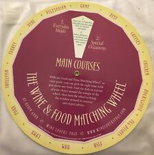 Kitchen Wine Food Pairing Matching Wheel Garr Everyday Special Occasion Meals