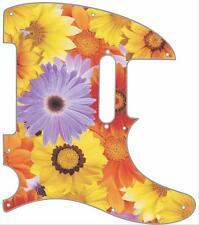 Telecaster Pickguard Custom Fender Tele 8 Hole Guitar Pick Guard Flower Power