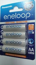 4 batterie AA Stilo ricaricabili 1900 mAh ENELOOP