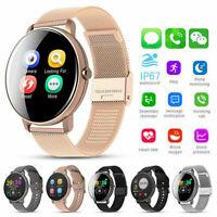 für Android IOS Smartwatch IP67 Sportuhr Armband Blutdruck Fitness Tracker NEU