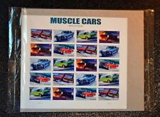 2013USA #4743-4747 Forever Muscle Cars - Sheet of 20 Mint  (post office sealed)