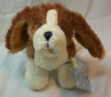 "Ganz Webkinz Li'l Kinz BASSET HOUND DOG 7"" Plush STUFFED ANIMAL Toy NEW"