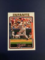 2005 Topps # 538 Omar Infante Detroit Tigers Baseball Card Qty Avail