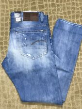 MEN'S G-STAR 3301 TAPERED LEG JEANS  33x32 NWT