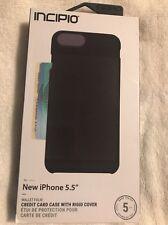 Incipio iPhone 8 Plus  Case Folio Credit Card Shockproof Wallet Slim Cover