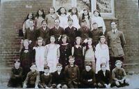 "PRINT 10"" X 7""  ASHFORD HILL SCHOOL GROUP c1917 HAMPSHIRE"