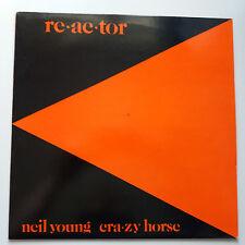Neil Young - Reactor Vinyl LP + Inner UK 1st Press EX+/EX+