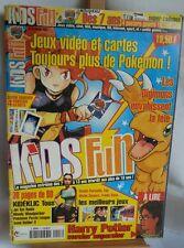 Kids Fun nº3 - fevrier 2001- digimon harry potter - bon etat