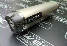 Kawasaki ZX10R 2011 2012 2013 + Titanium Tri Oval Carbon Outlet Exhaust Can