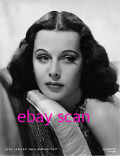 HEDY LAMARR 8x10 Lab Photo 1930s STUNNING GRACE DELICATE BEAUTY PORTRAIT