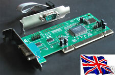 rs-232 2 Serial PCI Tarjeta mochip 9835 LP Bajo Perfil