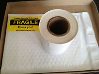 1- 4x6 Direct Thermal Labels Small Roll of 100. Use  w/ Eltron Zebra 2844 450 LP