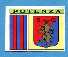CALCIATORI PANINI 1971-72-Figurina-Sticker ADESIVO n. 80b -POTENZA SCUDETTO-Rec
