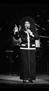 ARETHA FRANKLIN PERSONALLY OWNED & WORN BLACK SKIRT