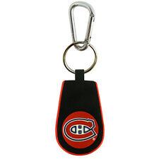Montreal Canadiens Classic Hockey Keychain (New) Key Chain Jewelry Rubber