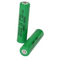 2-Pack HQRP Phone Battery for Panasonic KX-TG7622 KX-TG7623 KX-TG7624 KX-TG9333T