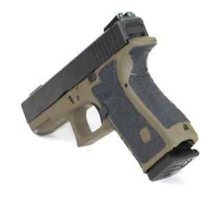 Gummi Gripaufkleber f. Glock 17 20 21 22 33 besserer Grip gen. 1-4 IPSC