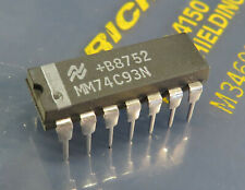 1 x mm74c93n 4 bits binary Counter ns dip-14 1pcs