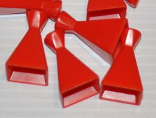 lot of 5 red replacement Pieces for SESAME STREET MISSING MATCH-UP Board Game