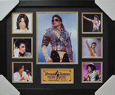 MICHAEL JACKSON SIGNED AND FRAMED LIMITED EDITION