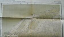 MILITARIA_COLONIE_AFRICA_CIRENAICA_LIBIA_SETTE GRANDI MAPPE TOPOGRAFICHE_1931