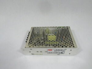 Mean Well S-60-24 Power Supply In. 100-240VAC 2A 50/60Hz Out. 2.5A 24V ! WOW !