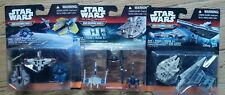 Lot of (9) STAR WARS Force Awakens MICRO MACHINES Vehicle Packs Toys - (3 Packs)