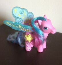 My Pony G3 2006 – – Little Deluxe Pegasus – Star Flight-Excelente Estado Rosa