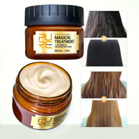 Collagen Keratin Repair Dry Damaged Hair Treatment Hair Repair Mask.