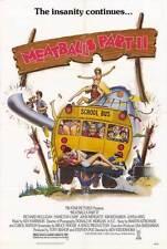 MEATBALLS 2 Movie POSTER 27x40 Archie Hahn John Mengatti Tammy Taylor Kim
