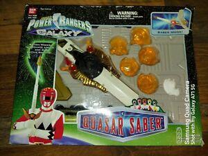 Power Rangers Lost Galaxy Quasar Saber Sword Almost Complete 1998 Bandai