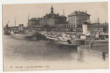 France, Calais, La Gare Maritime LL 36 Postcard, B083