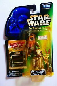 Star Wars Kenner Power Of The Force Ewoks: Wicket and Logray BNOC 1998
