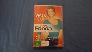 Walk Out Jane Fonda Prime Time - DVD - R4 - Free Tracking