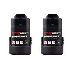 2X Battery For Bosch 10.8V PS10-2A PS20-2 PS20-2A PS21-2A PS30-2A PS31-2A PS40