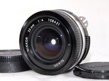 [Excellent++] Nikon Ai Nikkor 20mm f4 Wide Pan cake Lens from JAPAN